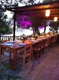 Restaurante Ses Boques - Playa Ses Boques - es Cubells - Ibiza