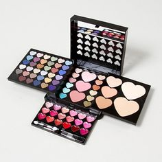 Perfect to prep for Valentine's Day: Heart Makeup Kit