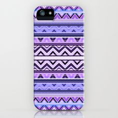 Mix #76 - Double Size - Purple iPhone & iPod Case by Ornaart - $35.00