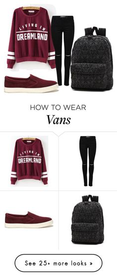 """Untitled #13"" by kamillka017 on Polyvore featuring Lauren Ralph Lauren and Vans"