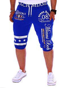 7cd9906942c54 $12.99 - Men's Active Cotton Loose / Sweatpants Pants - Letter Print  5045535 2018. Shop