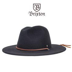 [Brixton]-ハット-FIELD HAT-BK- フェルト生地のフェドラハット。 つばの長さも程良く、スタイリングしやすいデザインです。 #BRIXTON #ブリクストン #ハット #中折れハット #帽子 #メンズファッション #ウエスタンハット #通販
