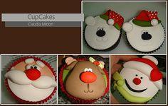 CupCakes de Natal | Eu Capricho