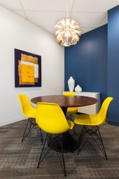 Interior design of the offices of Oakwyn Realty in Vancouver by