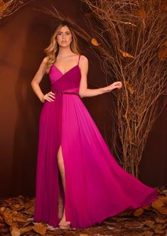 Pink Party Dresses, Gala Dresses, Pink Dress, Evening Dresses, Everyday Dresses, Mode Style, Classy Outfits, Dress Patterns, Pretty Dresses