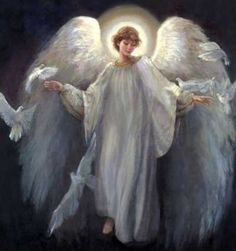Your Favorite Angel Paintings - <b>Welcoming Peace</b><br><Br ...