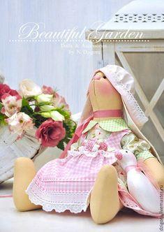 Купить Зайка текстильная Абелия - зайка, зайка текстильная, зайка игрушка, игрушка в подарок