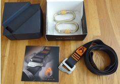 Tybelt package #tybelt #carabiners #design #belt #present #multifunction