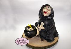 3D cake witch