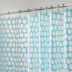 Honeycomb Shower Curtain in Aqua $12.99