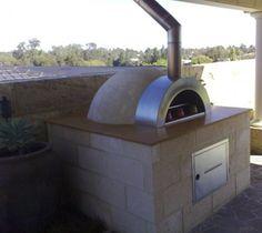 Block Alfresco Pizza Oven idea
