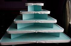 DIY Tiffany cupcake stand