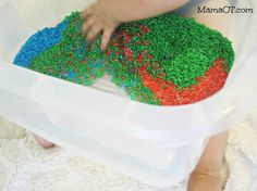 50 Fun Ways to Play with Rice
