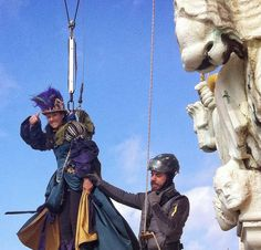Great Girls over Piazza San Marco - VENICE CARNIVAL 2015