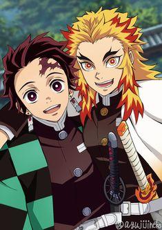 Demon Slayer: Kimetsu No Yaiba Manga Online Cute Anime Boy, Anime Love, Anime Guys, Demon Slayer, Slayer Anime, Fanarts Anime, Anime Characters, Anime Shop, Demon Hunter