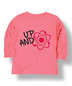 Look at this #zulilyfind! Light Pink 'Up and Atom' Long-Sleeve Tee - Infant #zulilyfinds