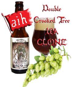Double Crooked Tree IPA Clone All Grain Recipe Beer Brewing Kits, Home Brewing, Crooked Tree, Grain Foods, Beer Recipes, Ipa, Craft Beer, Grains, Root Beer