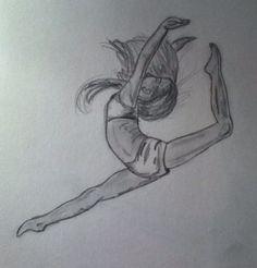 Drawing of a dancer 4 ballet drawings, dancing drawings, pretty drawings, e Pretty Drawings, Cool Art Drawings, Pencil Art Drawings, Disney Drawings, Easy Drawings, Drawings Of People Easy, Easy Sketches To Draw, Drawings Of Love, Drawing Disney