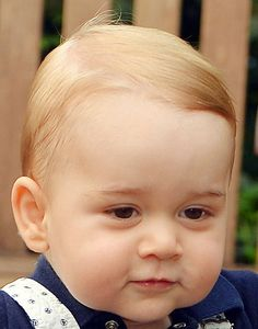 whatprincegeorgewore: Closeup of Prince George