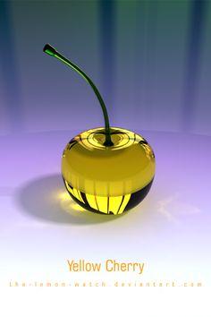 Yellow Cherry iPhone Wallpaper by THE-LEMON-WATCH on DeviantArt