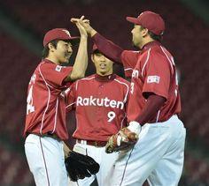 Koji Aoyama and Jose Fernandez (Tohoku Rakuten Golden Eagles)