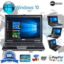 Dell Laptop Latitude Windows 10 Core 2 Duo 4GB Ram DVDRW WIFI Computer Win 10 HD