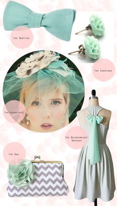 2013's hottest wedding trend: mint!