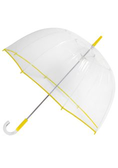 This umbrella was the best investment I ever made. Practical for those rainy+windy days. Matching boots? You betcha.