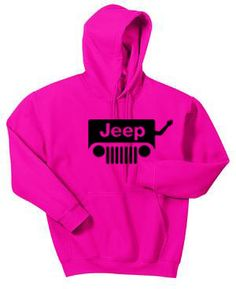 JEEP WAVE Hoodie - Wrangler Drivers Wave to Each Other - Available in Multiple Colours and Sizes (S-XXXL) Getting it!