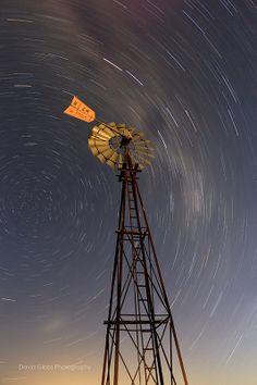 Star windmill, South Australia - l by David Gibbs