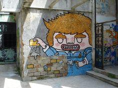 """We declare the world as our canvas"" Bricklayer / bontool.com"