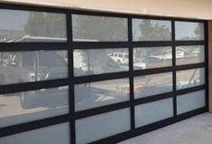 Anodized & Powder coat Aluminum Glass Garage doors by Garage doors 4 Less. Glass Garage Door, Garage Door Opener, Garage Doors, Garage Door Spring Repair, Garage Door Springs, Canoga Park, Powder, Windows, Ramen