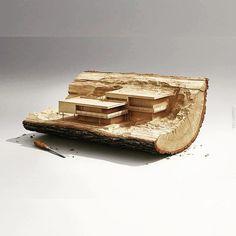 Architecture diorama! #scalemodel #miniature #art #arte #miniatur #hobby #scale #architecture #house #usinadoskits #udk #diorama