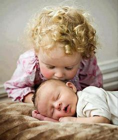 ...little baby brother smoochies!  : )