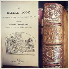 The Ballad Book, 1872.