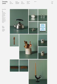NATASHA MEAD — Everyday Needs Website Design Inspiration, Best Website Design, Website Design Layout, Web Layout, Graphic Design Inspiration, Layout Design, Minimal Web Design, Flat Design, Ecommerce Web Design