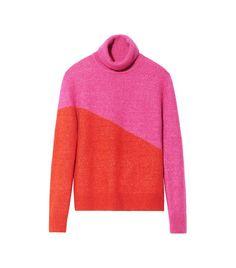 81b3ead22bde47 H&M Knit Turtleneck Sweater Red Turtleneck, Red And Pink, Sweater Outfits,  Men Sweater