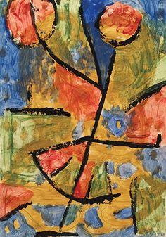 Paul Klee 'Dance-Flower' 1939