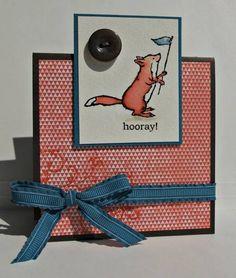 CAS181 - Hooray! (SUO) by ReginaBD - Cards and Paper Crafts at Splitcoaststampers