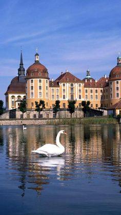 Moritzburg Castle, State Saxony, Germany