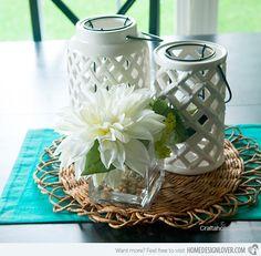 15 lovely table centerpiece ideas - Kitchen Centerpiece Ideas