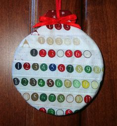 These pretty selvage ornaments were made by Carolyn Wenzel of Wisconsin. Christmas Fabric Crafts, Easy Christmas Ornaments, Christmas Gift Decorations, Christmas Sewing, Handmade Ornaments, Handmade Christmas, Christmas Crafts, Christmas Ideas, Cozy Christmas