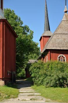 Old church Kristiinankaupunki, Ostrobothnia province of Western Finland.- Pohjanmaa - Österbotten
