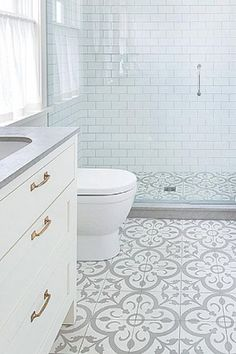 Bathroom Inspiration: Gorgeous Tile Ideas Bathroom Inspiration: Gorgeous Tile Ideas,Defiance Ranch Bathroom Inspiration: Gorgeous Tile Ideas Related Polymer Clay Projects Inspired By Nature - ceramic artWhat Do I Need to do Pottery at. Bathroom Tile Designs, Bathroom Floor Tiles, Bathroom Renos, Bathroom Interior Design, Bathroom Renovations, Modern Bathroom, Dyi Bathroom, Shiplap Bathroom, Bathroom Small