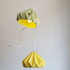 Paper lights (7 colours available) -  $118,54 - made in Holland - from www.cachette.com