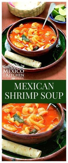 Shrimp Soup │Caldo de Camarón There are a multitude of ways shrimp soup is made in Mexico, and each region can have its own recipes.There are a multitude of ways shrimp soup is made in Mexico, and each region can have its own recipes. Authentic Mexican Recipes, Mexican Shrimp Recipes, Mexican Seafood, Mexican Dishes, Seafood Recipes, Cooking Recipes, Healthy Recipes, Fish Soup Recipe Mexican, Dishes Recipes