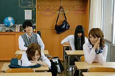 Kimi ni Todoke live action! I have DVDs for the live action and the anime episodes :D