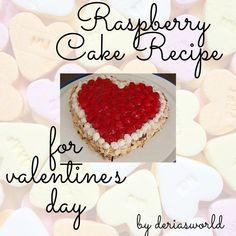 #raspberrycake #cake #cooking #baking Raspberry Cake, Valentines Day, Cake Recipes, Blogging, Cookies, Baking, Desserts, Food, Valentine's Day Diy