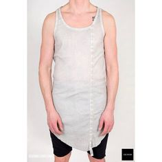 New #thomkrom #ss17 arrivals such as this Elongated Tank available now @ sevenhelsinki.com