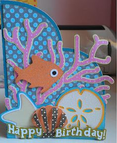 Under the Sea Card from svgcuts.com